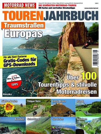 Touren Jahrbuch Traumstraßen Europas 2017
