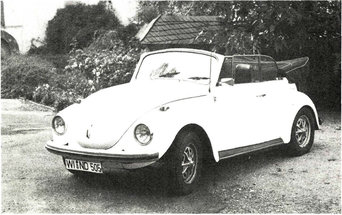 Kaufberatung VW Käfer Cabrio