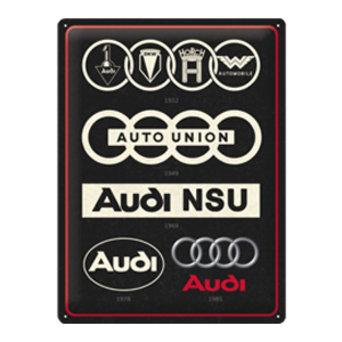Audi - Logo Evolution