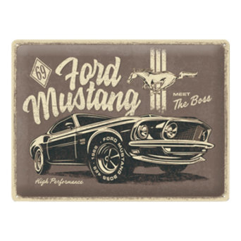 Ford Mustang - The Boss