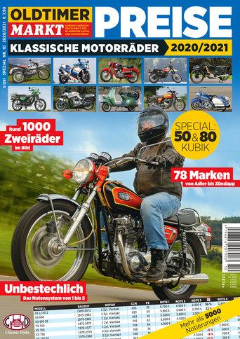 Sonderheft 10: Motorrad Spezial, Preise für klassische Motorräder Erscheinungsjahr: 2020