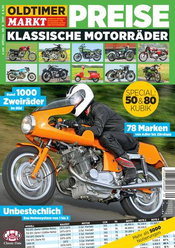 Sonderheft 9: Motorrad Spezial, Preise für klassische Motorräder Erscheinungsjahr: 2017