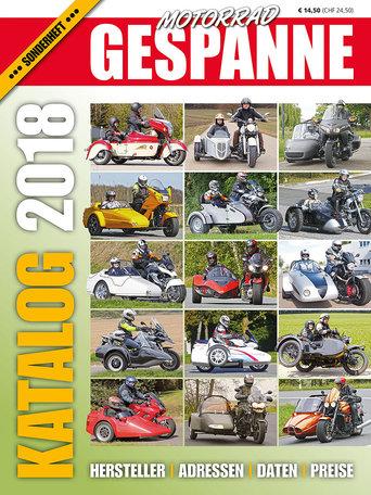 Motorrad Gespanne Katalog 2018