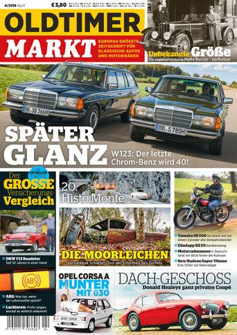 Oldtimer Markt 4/2016