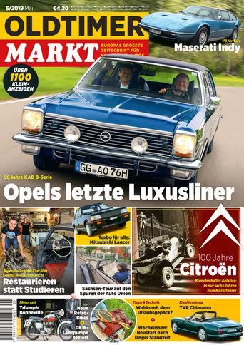 Oldtimer Markt 5/2019