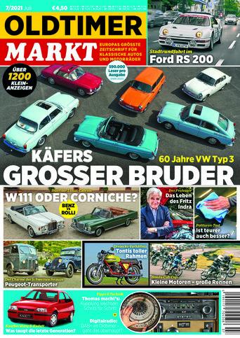 Oldtimer Markt 7/2021