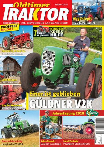 Oldtimer Traktor 1/2019