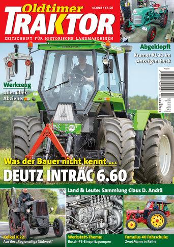 Oldtimer Traktor 4/2018