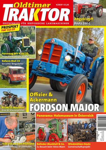 Oldtimer Traktor 4/2019