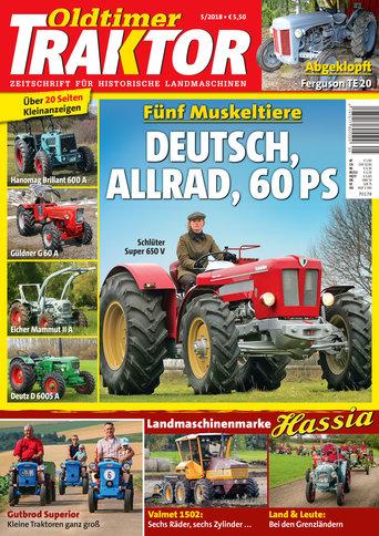 Oldtimer Traktor 5/2018