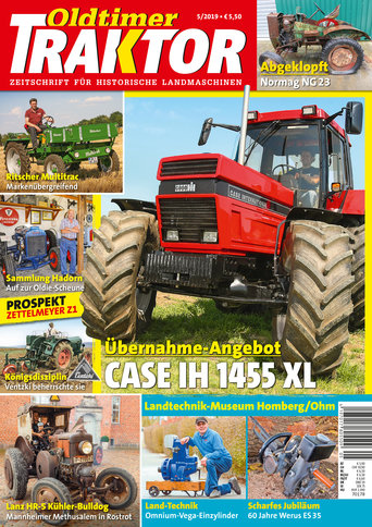 Oldtimer Traktor 5/2019