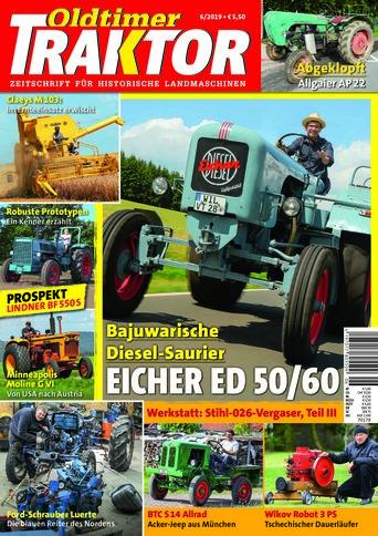 Oldtimer Traktor 6/2019
