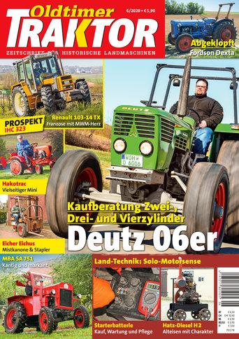 Oldtimer Traktor 6/2020