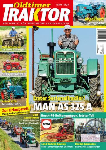 Oldtimer Traktor 7/2018