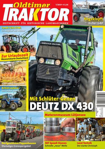 Oldtimer Traktor 7/2019