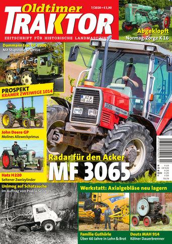 Oldtimer Traktor 7/2020