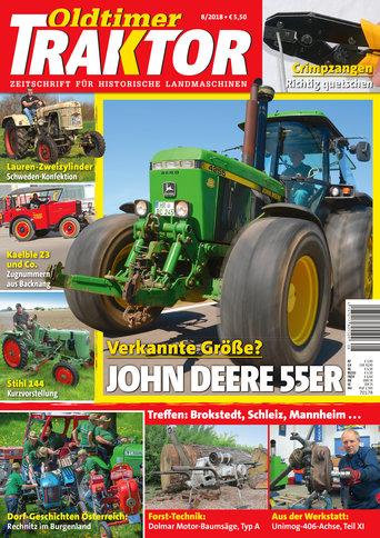 Oldtimer Traktor 8/2018