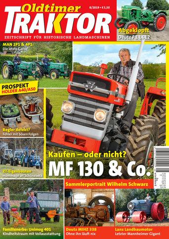 Oldtimer Traktor 8/2019