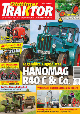 Oldtimer Traktor 8/2020