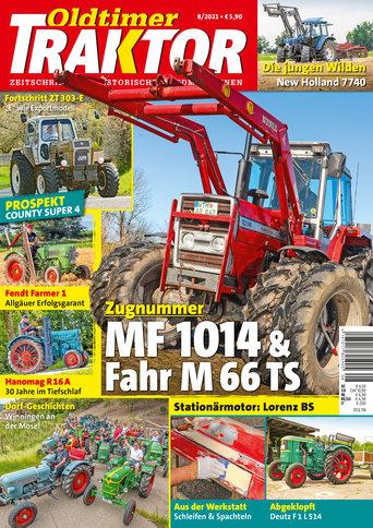 Oldtimer Traktor 8/2021