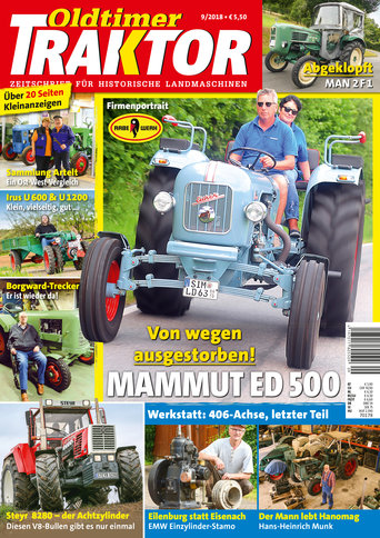 Oldtimer Traktor 9/2018