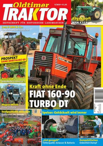 Oldtimer Traktor 9/2019