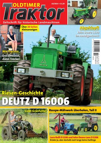 Oldtimer Traktor 10/2014