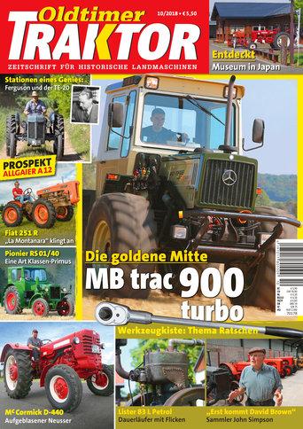 Oldtimer Traktor 10/2018