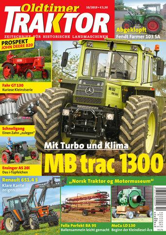 Oldtimer Traktor 10/2019