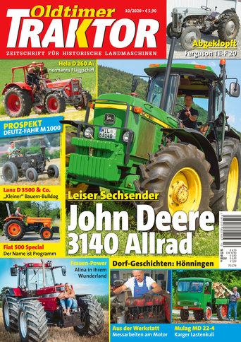 Oldtimer Traktor 10/2020