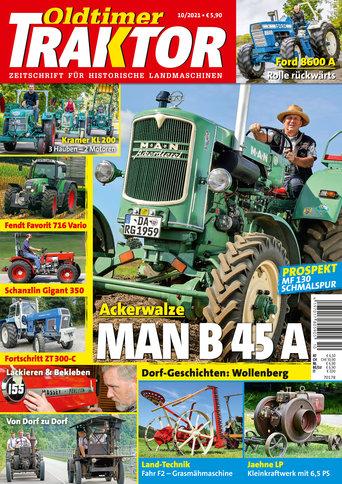 Oldtimer Traktor 10/2021