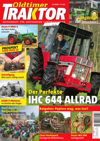 Oldtimer Traktor 11/2019
