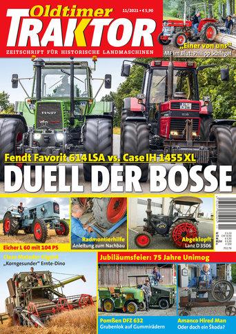 Oldtimer Traktor 11/2021