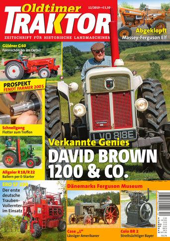 Oldtimer Traktor 12/2019