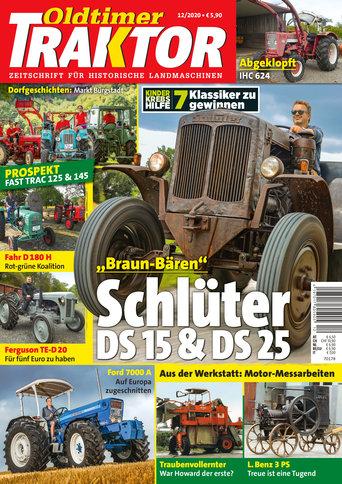 Oldtimer Traktor 12/2020