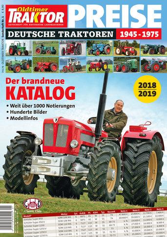 Oldtimer Traktor Sonderheft 1: Preise 2018/2019
