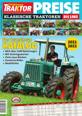 Oldtimer Traktor Sonderheft 2: Preise 2021/2022