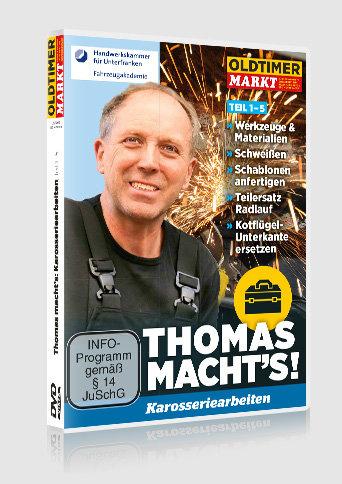 DVD: THOMAS MACHT'S - Karosseriearbeiten