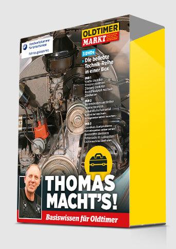 """Schuber für die Trilogie """"THOMAS MACHT'S"""""""