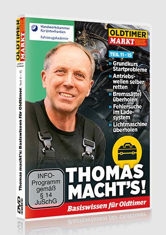 DVD: THOMAS MACHT'S - Vol. 3 Basiswissen für Oldtimer