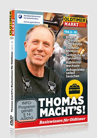 DVD: THOMAS MACHT'S - Vol. 2 Basiswissen für Oldtimer