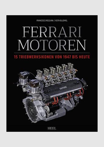 Buch Ferrari Motoren