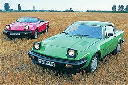 Kaufberatung TriumphTR7 und TR8