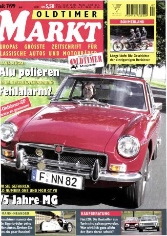 Oldtimer Markt 7/1999