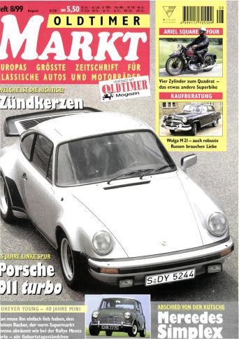 Oldtimer Markt 8/1999