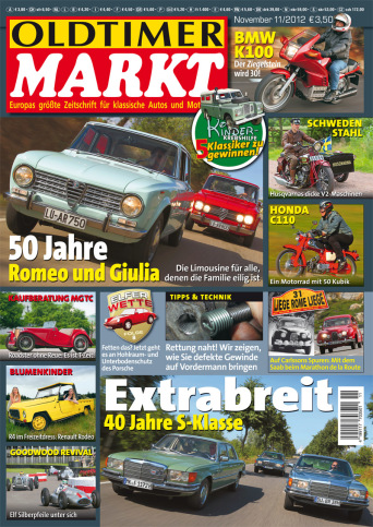 Oldtimer Markt 11/2012