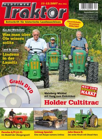 Oldtimer Traktor 11-12/2007