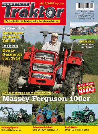 Oldtimer Traktor 9-10/2007
