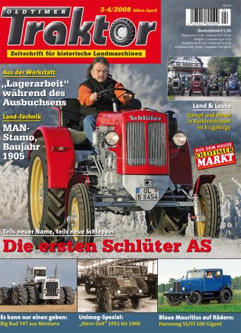 Oldtimer Traktor 3-4/2008