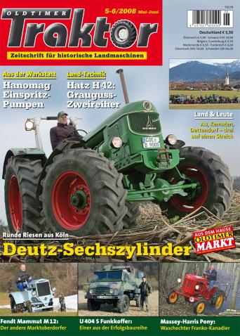 Oldtimer Traktor 5-6/2008